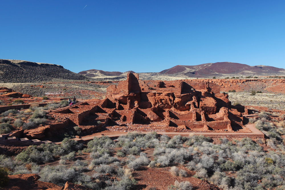 scenic view of Wupatki National Monument